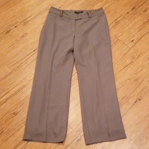 Grey pinstripe dressy lined trousers